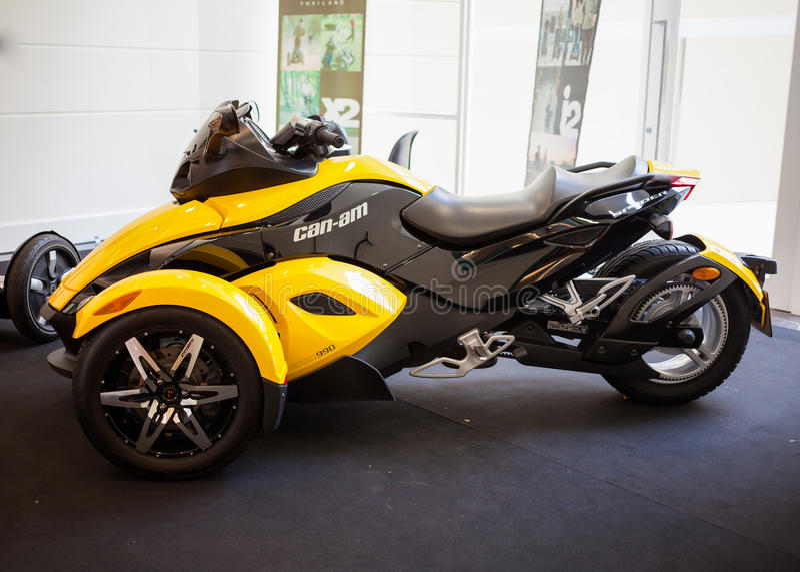Pouvoir-Suis le roadster de Spyder RS photo libre de droits