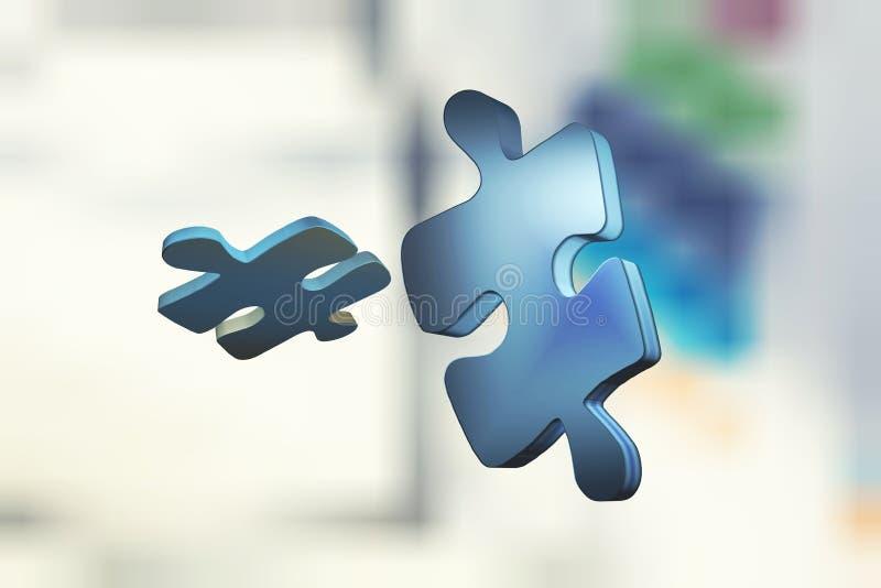 Pouzzle en pantalla libre illustration