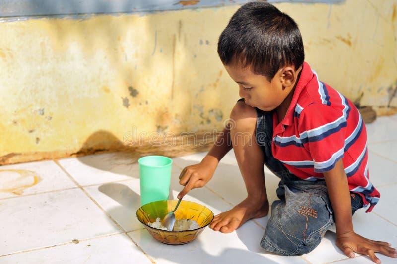Povertà e fame immagini stock