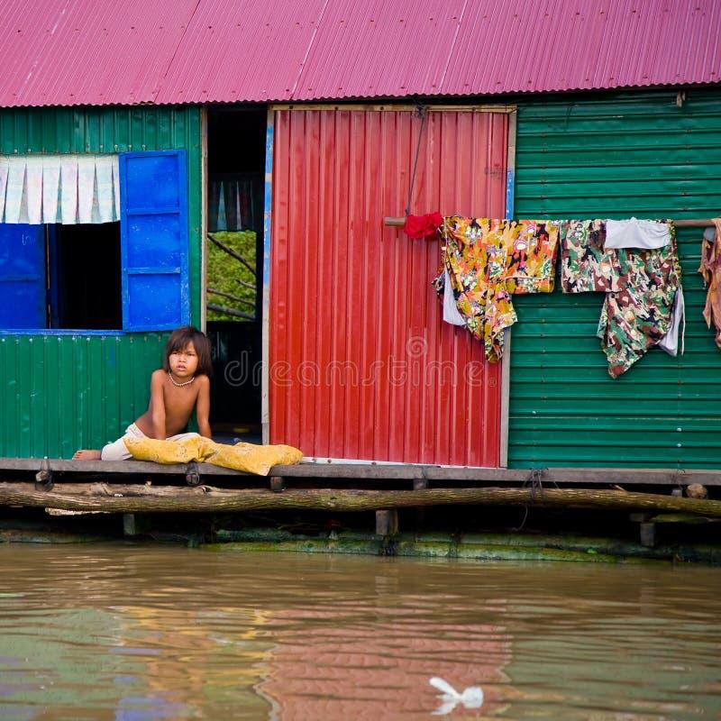 Poverty, Cambodia stock photography