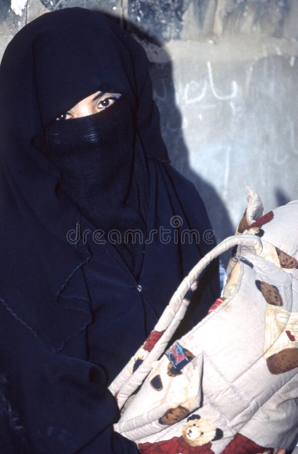 povos 1996-Yemen imagens de stock royalty free