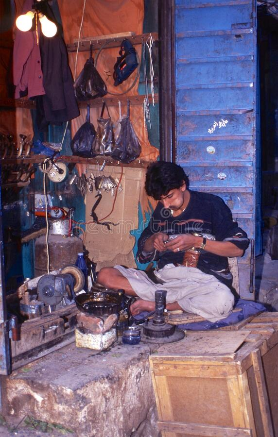 povos 1996-Yemen foto de stock royalty free