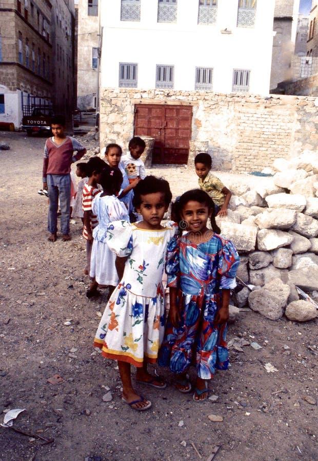 povos 1996-Yemen fotografia de stock