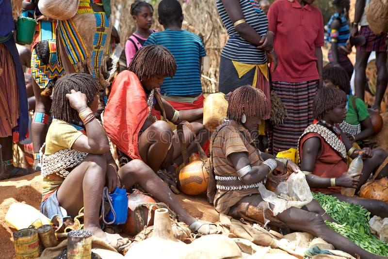 Povos africanos fotos de stock