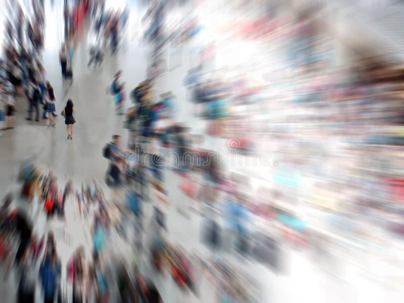 Povos da multidão imagens de stock