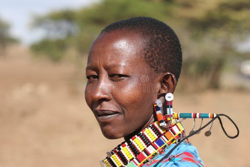 Povos de África fotografia de stock