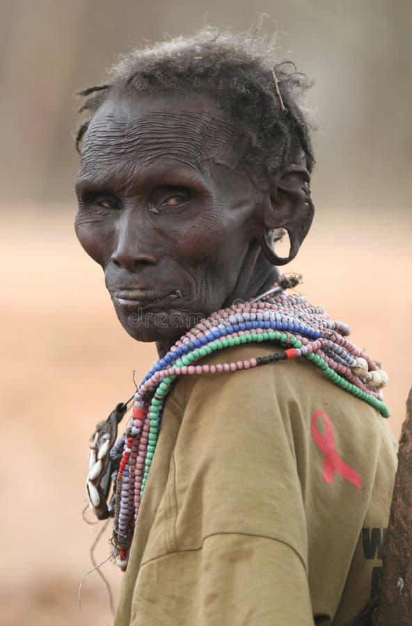 Povos de África imagens de stock royalty free