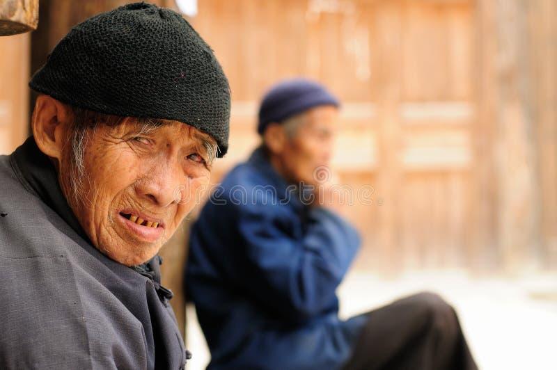 Povos de China fotografia de stock royalty free