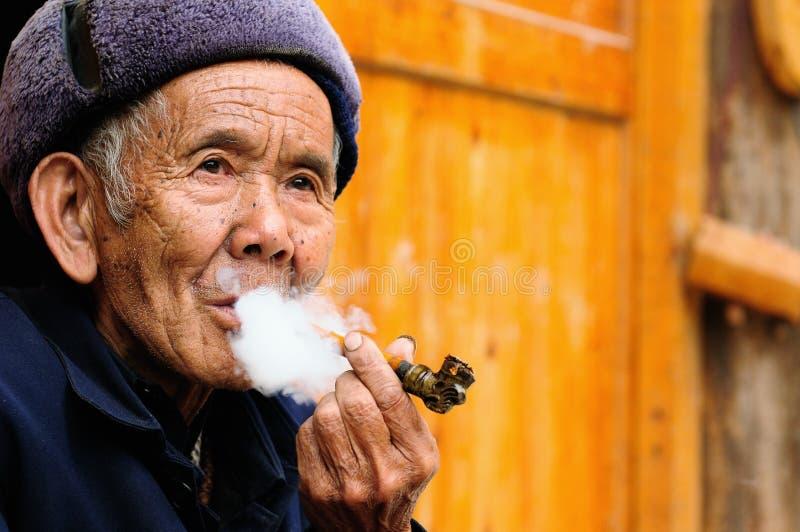 Povos de China fotografia de stock