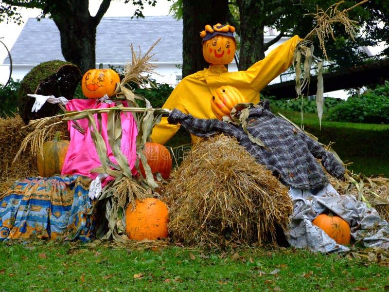 Povos de Halloween foto de stock