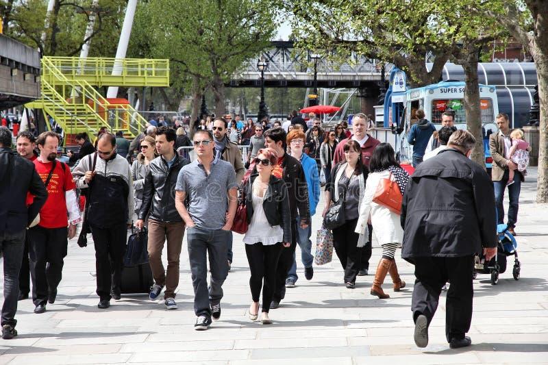Povos de Londres fotos de stock