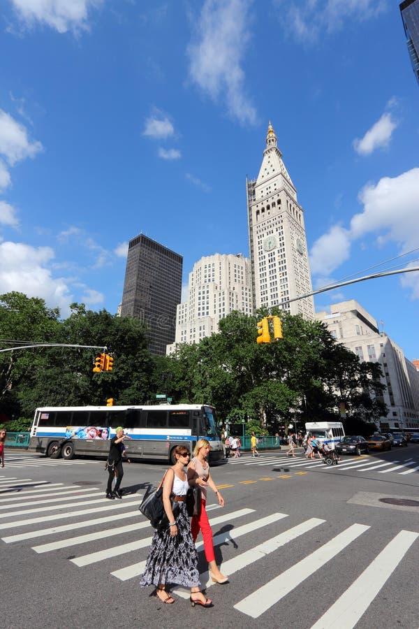 Povos de New York imagens de stock