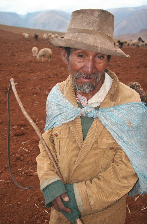 Povos de Peru imagem de stock