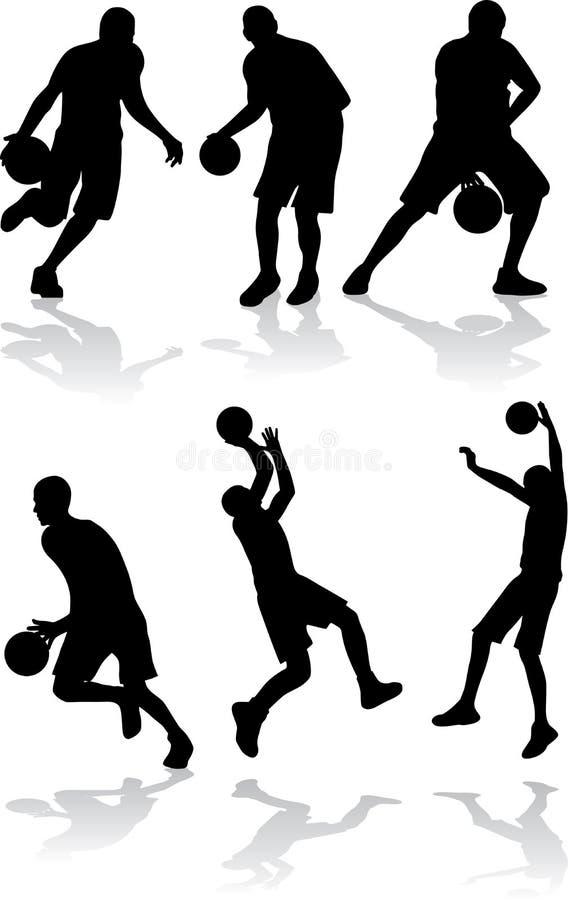 Povos do esporte do vetor ilustração do vetor