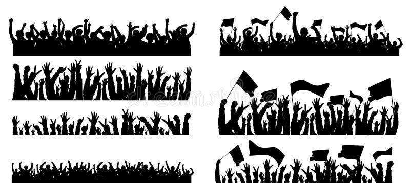 Povos do grupo ilustração stock