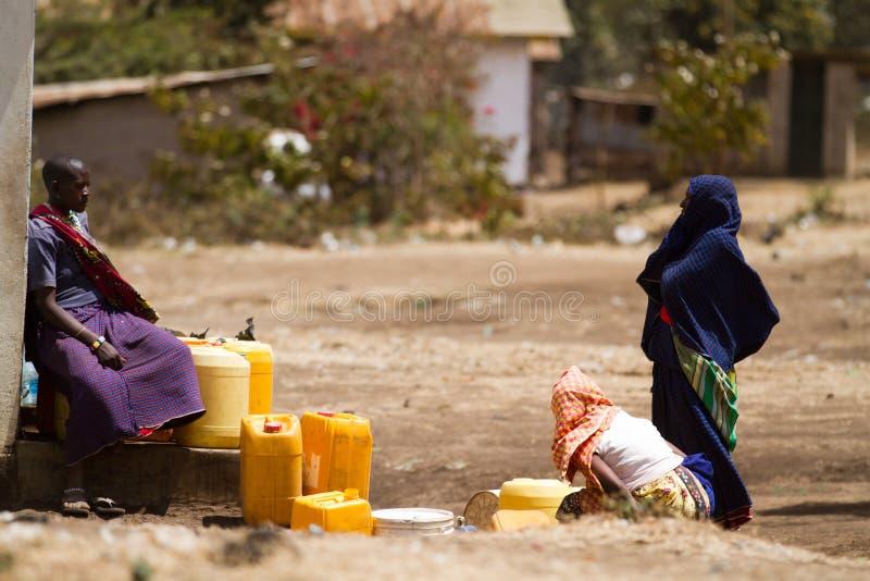 Povos do Masai imagem de stock royalty free