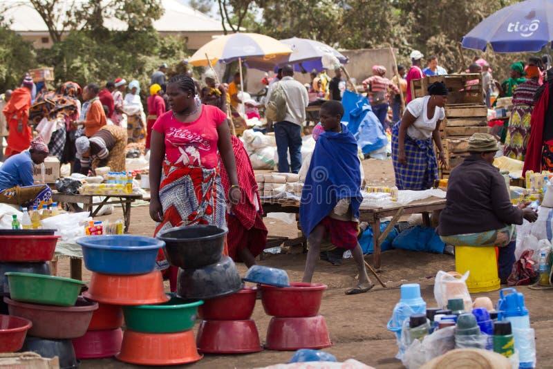 Povos do Masai fotos de stock royalty free