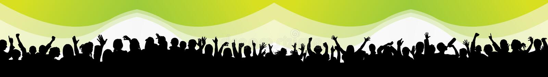 Povos do partido ilustração do vetor
