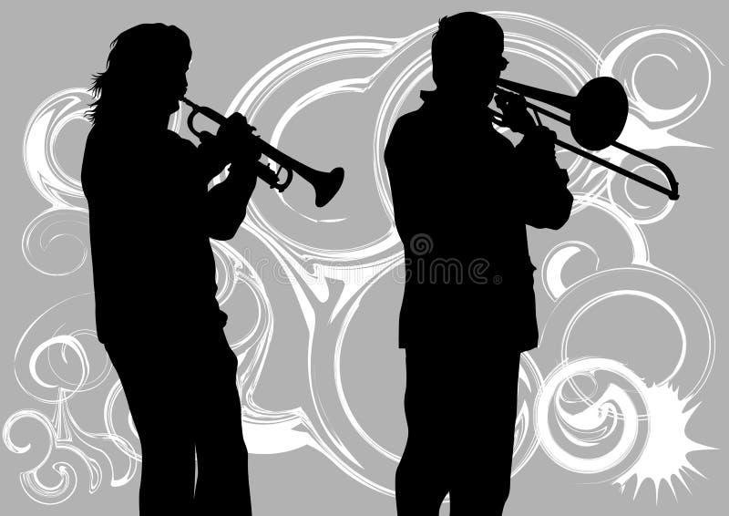 Povos do vento ilustração royalty free