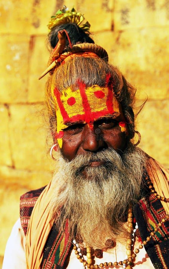 Povos durante o festival de Holi fotos de stock royalty free