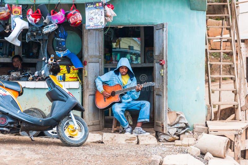 Povos em ANTANANARIVO, MADAGÁSCAR fotos de stock
