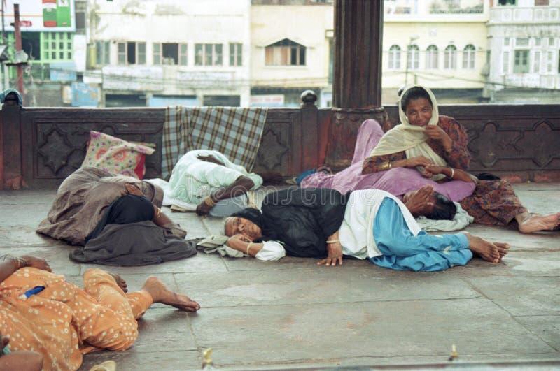 Povos em India imagens de stock