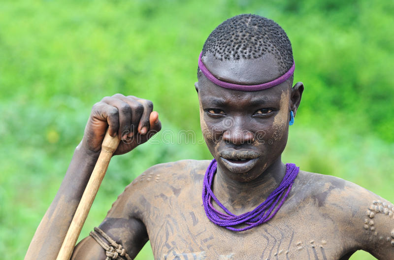 Povos etíopes fotografia de stock