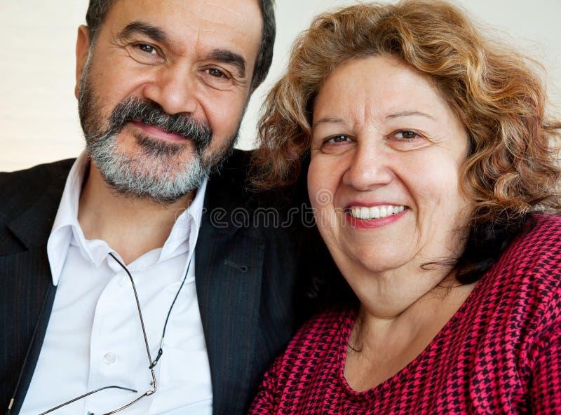 Povos maduros judaicos fotografia de stock royalty free