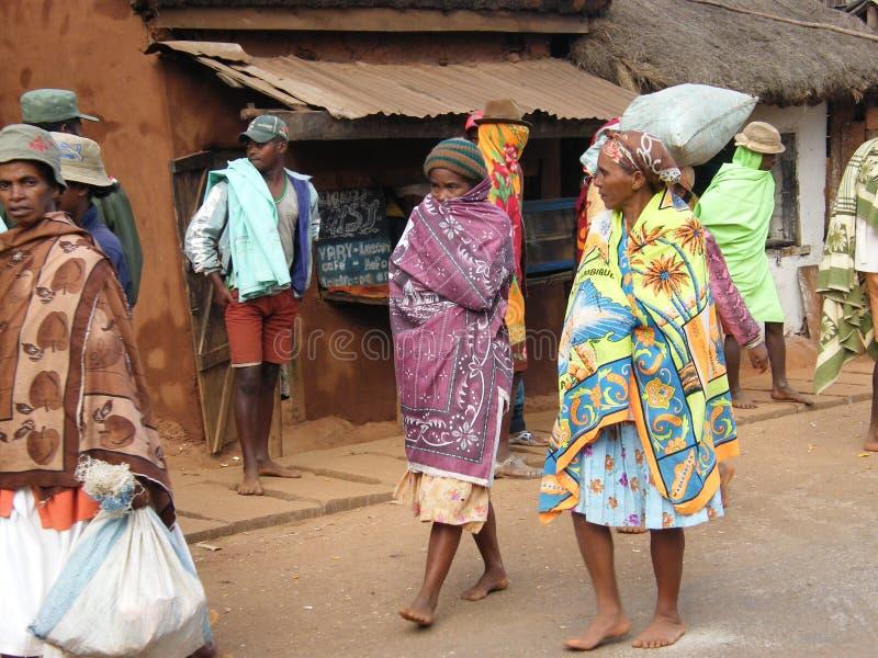 Povos malgaxes nativos imagens de stock royalty free