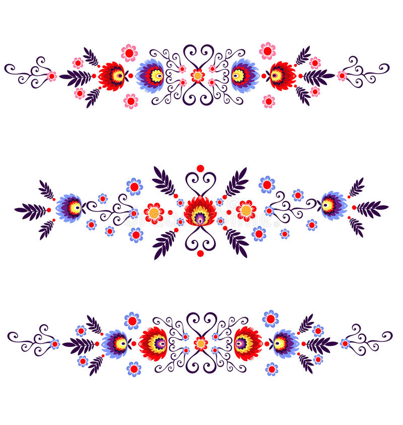 Povos poloneses - inspiração ilustração royalty free