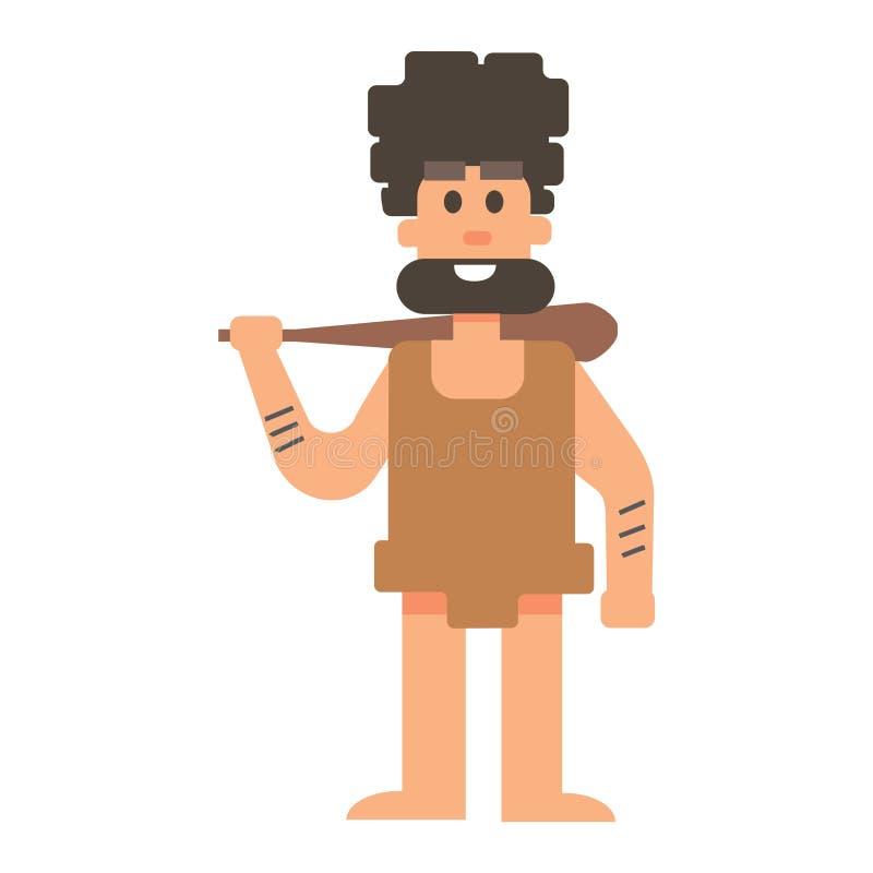 Download Povos Primitivos Da Idade Da Pedra Do Homem Das Cavernas Ilustração do Vetor - Ilustração de ilustração, antepassado: 80100220