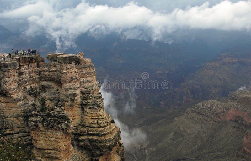 Grand Canyon acima das nuvens fotografia de stock royalty free
