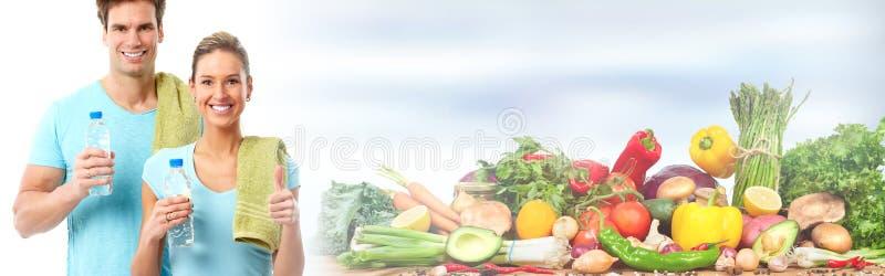 Povos saudáveis foto de stock