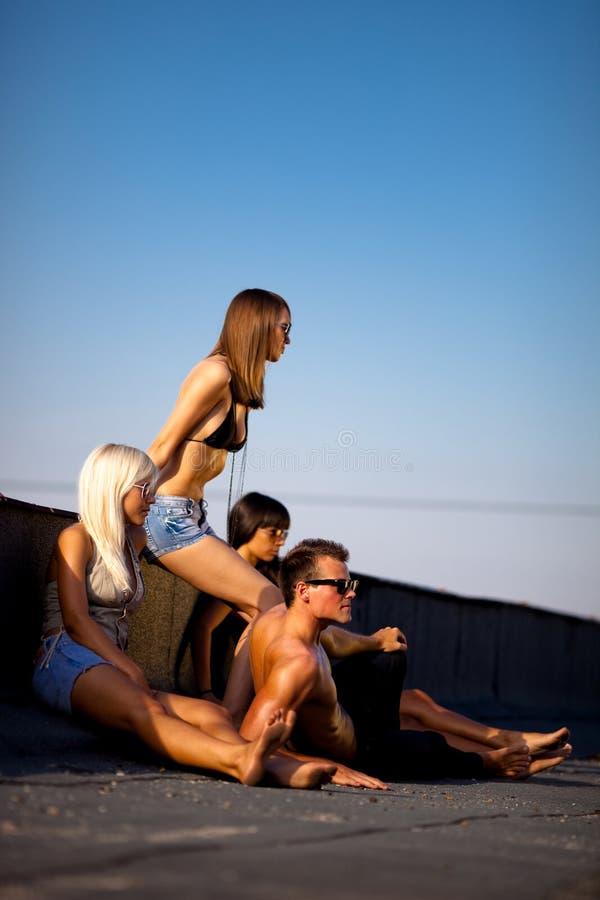 Povos 'sexy' imagens de stock royalty free