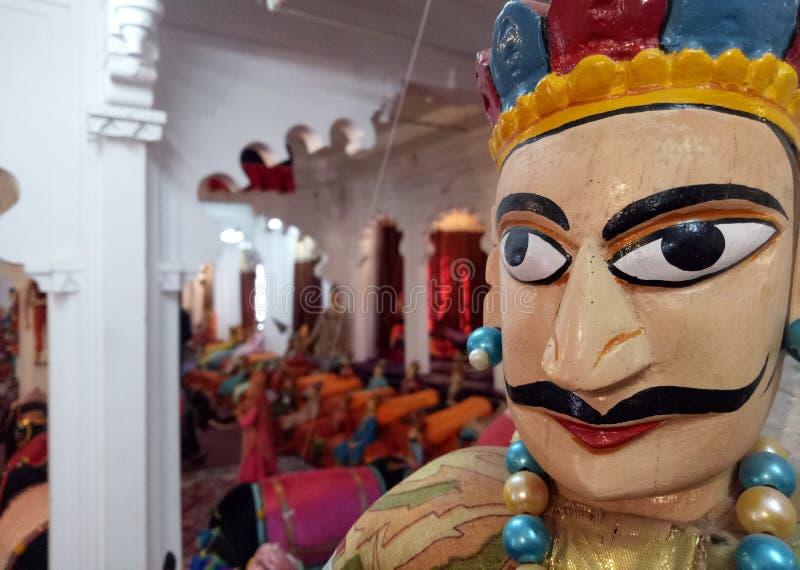 Povos tradicionais indianos Art Puppets fotos de stock royalty free