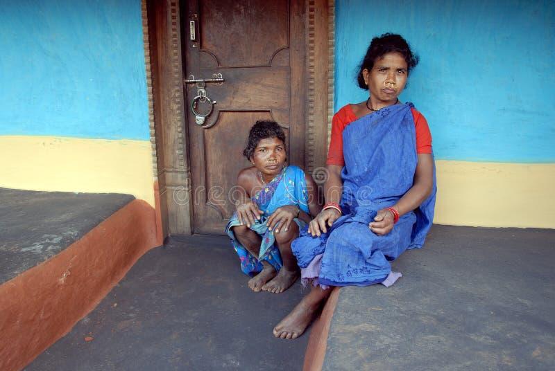 Povos tribais em India foto de stock royalty free