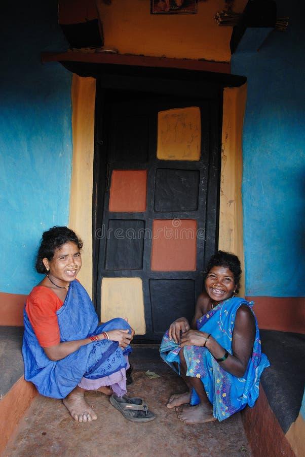 Povos tribais em India foto de stock