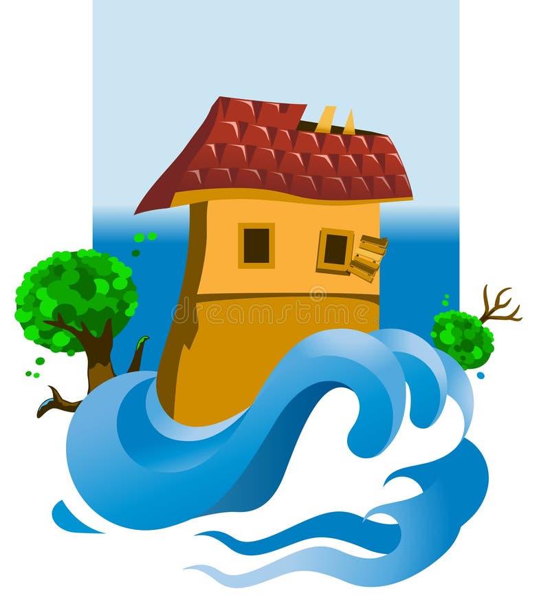 powódź ilustracji