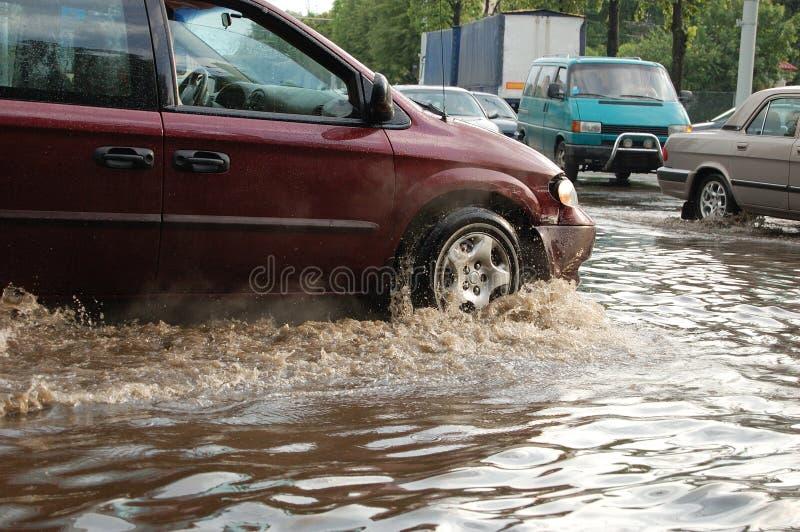 powódź zdjęcia royalty free