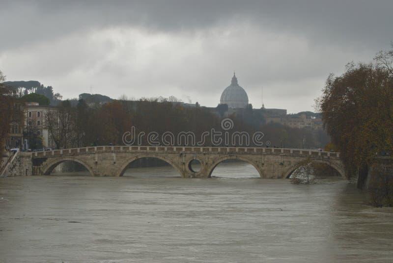 powódź Rome zdjęcia stock