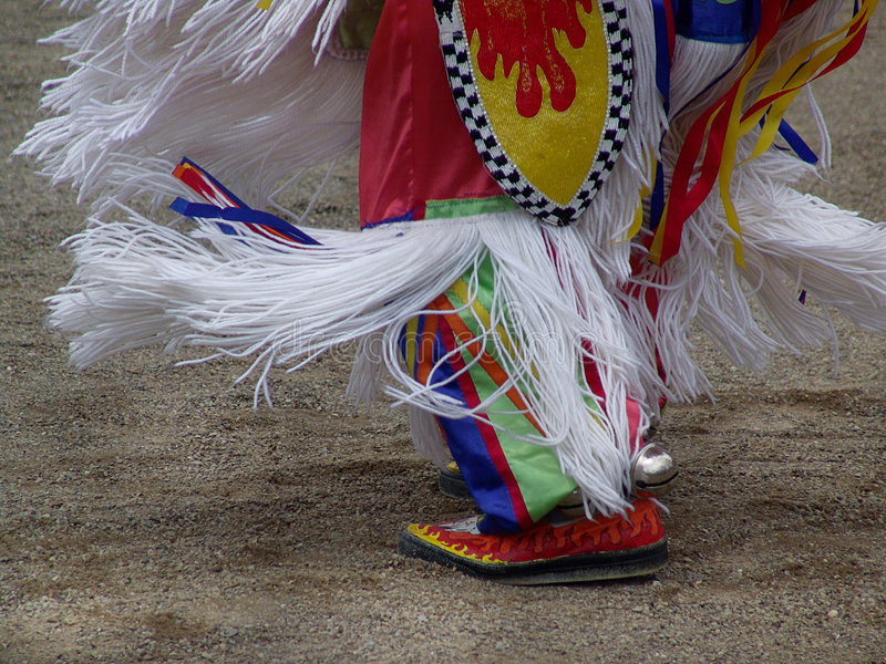 Download Pow-Wow fotografia stock. Immagine di moccasins, piede - 208784