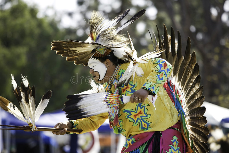 Download Pow Wow 24 editorial stock image. Image of tribe, brave - 4247134