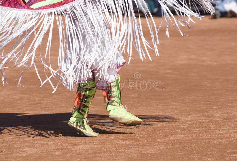 Pow Wow Dancers stock image