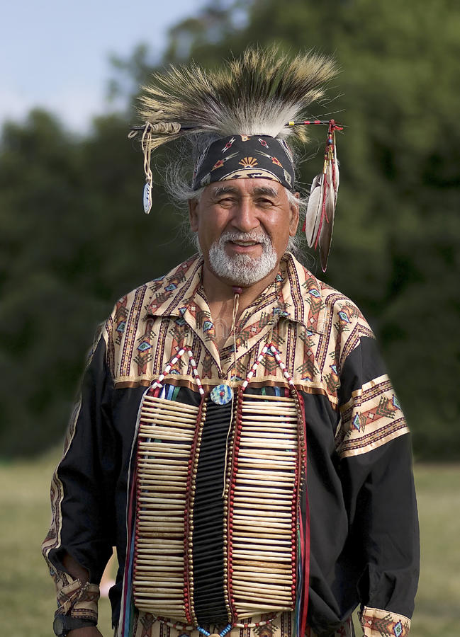 Download Pow Wow Elder editorial stock image. Image of indian - 19975334