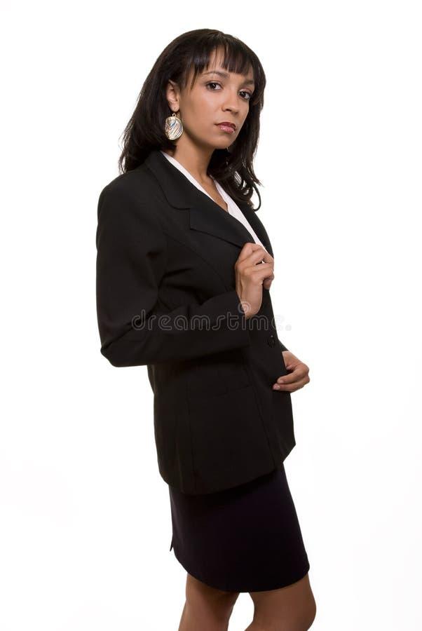 poważna biznesowej kobieta obraz stock
