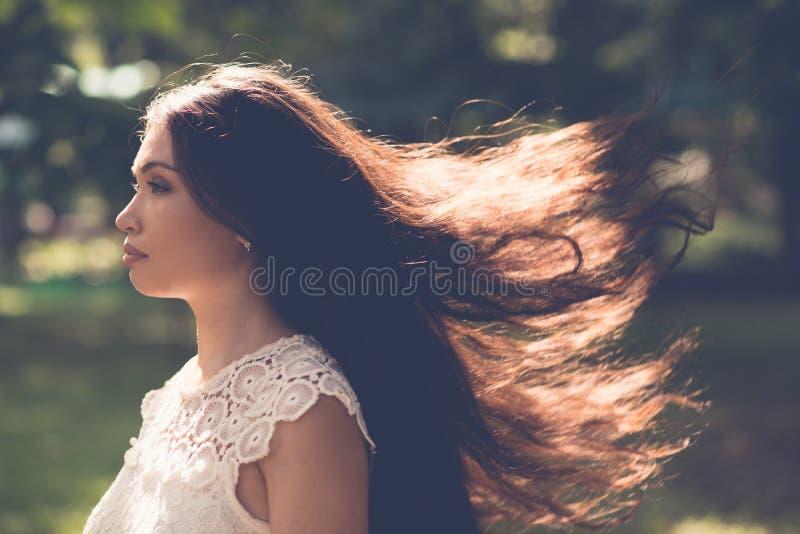 Poważna kobieta fotografia stock