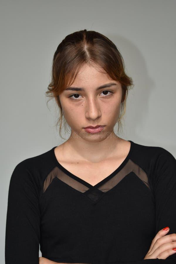 poważne młodych dziewcząt obrazy royalty free