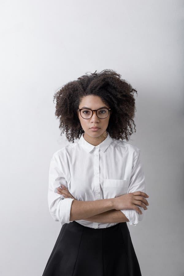 Poważny kobieta biznes odziewa zdjęcie royalty free