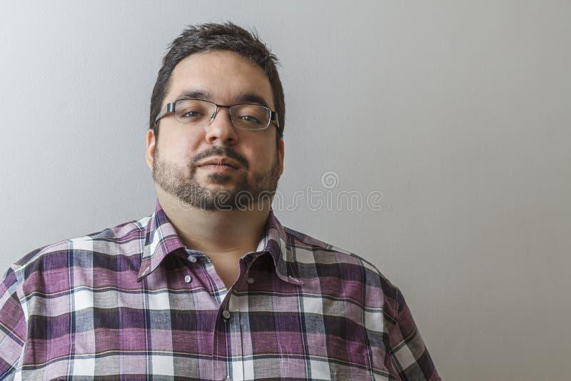 Poważny mężczyzna obrazy stock