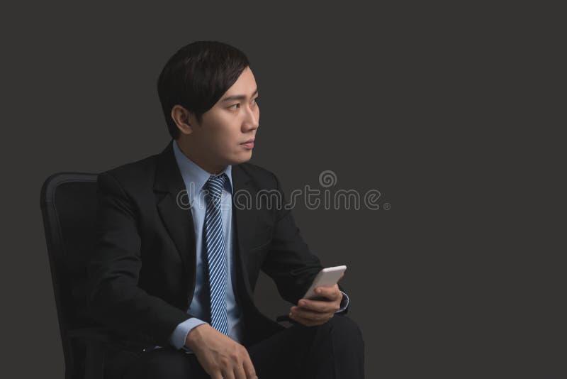 Poważny Wietnamski biznesmen obraz stock